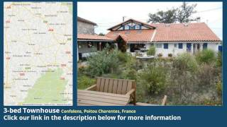 preview picture of video '3-bed Townhouse for Sale in Confolens, Poitou Charentes, France on frenchlife.biz'