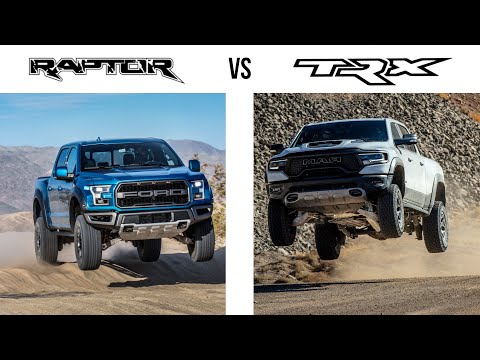 5 Ways The FORD RAPTOR Is BETTER Than The RAM TRX....And 5 Ways It's Worse