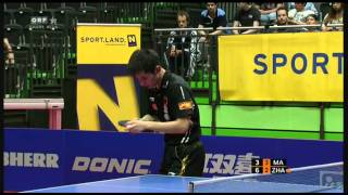 2011 Austrian Open (ms-f) MA Long - ZHANG Jike [HighQuality/Full Match 4/5]