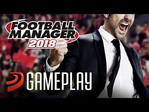 Gameplay de Football Manager 2018