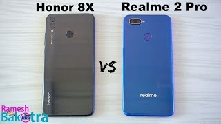 Honor 8X vs Realme 2 Pro SpeedTest and Camera Comparison