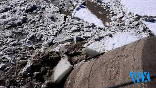Ice Jam Releases in Custer County, MT