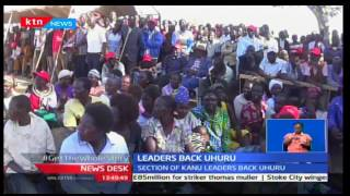 Leaders from West Pokot back President Uhuru Kenyatta's re-election