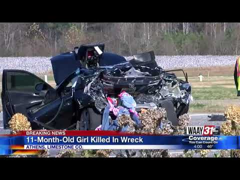 11-month-old child killed, 3 injured in Athens wreck