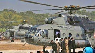 Modi ji Ka Helicopter Landing in Thakurnagar