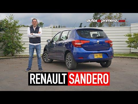 Renault Sandero 2020, el líder en ventas | Prueba-Reseña