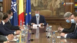 Preşedintele Iohannis - şedinţă pe teme economice cu membri ai Guvernului