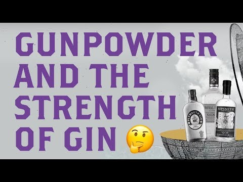A Brief History of Gunpowder Gin