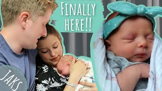 Birth Vlog | Adoption Day Of Our Baby Girl | EMOTIONAL Adoption Journey [CC]