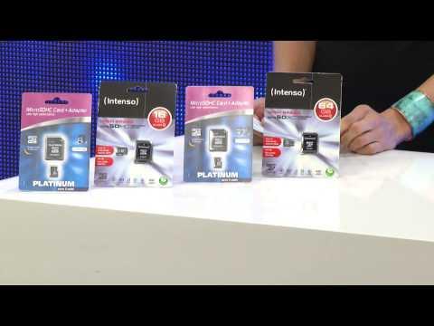 microSDXC-Speicherkarte 64 GB Class 10 inkl. SDXC-Adapter