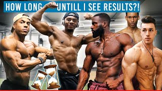 How Long Does It Take To Build Muscle & See RESULTS?!