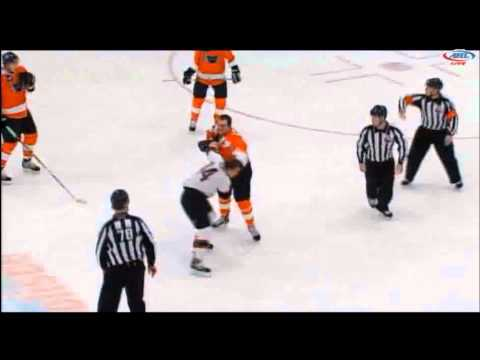 Kyle Hagel vs. Derek Mathers
