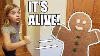 The Gingerbread Man Is Alive! Cant Catch Me Im The Gingerbread Man