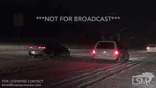 1-21-19 Castle Rock Co. Heavy Snow- Cars All Over I 25 in Deep Snow