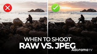 5 Steps to Better Understanding When to Shoot RAW vs JPEG | Mastering Your Craft