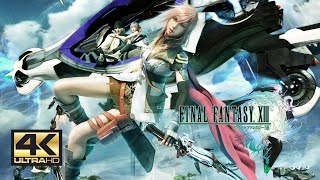 Final Fantasy XIII  Chapter 4 The Vile Peaks PC Gameplay with Mods 4K 60FPS