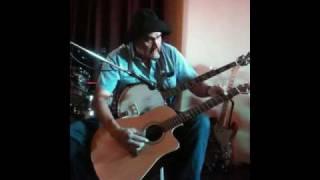 One man Duelling banjos
