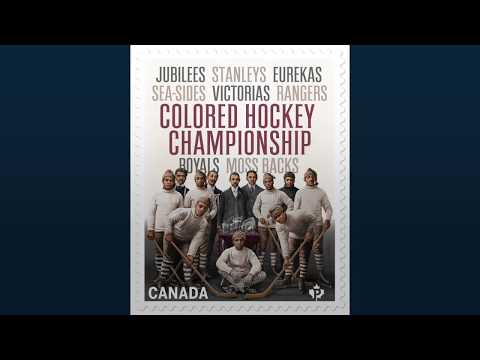 Stamp honors hockey and black history