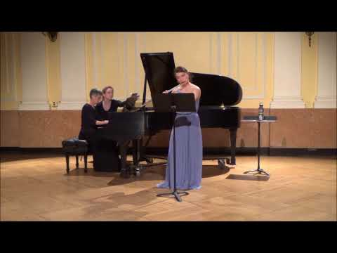 Prokofiev: Flute Sonata in D major, op. 94 I. Moderato II. Scherzo III. Andante