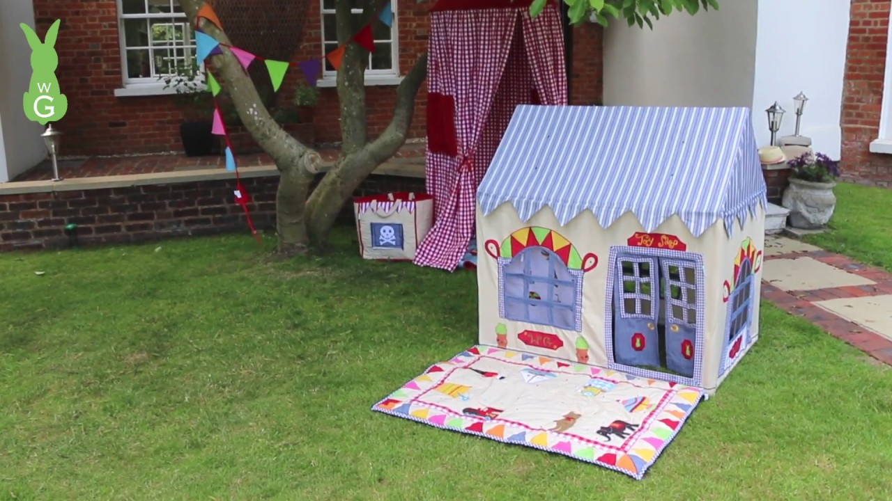Beach House Large Play House by Win Green