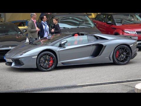 How About A Lamborghini Aventador?