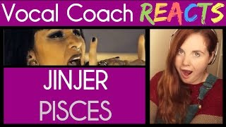 Vocal Coach reacts to JINJER - Pisces (Live Session) | Napalm Records