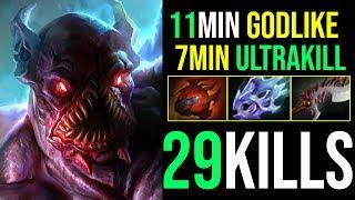 7Min=Ultrakill [Night Stalker] BACK TO CARRY META 29Kills By Kingrd 7.19b   Dota 2 FullGame
