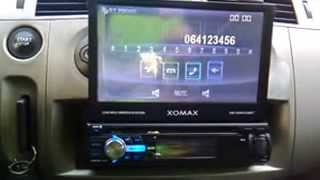 Xomax xm-vrsu720bt, single din