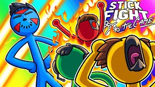 Stick Fight Funny Moments - Delirious is Laser Proof?!