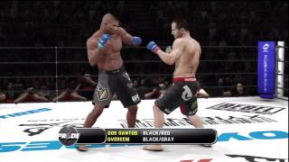 UFC Undisputed 3 Gameplay: Alistair Overeem vs. Junior Dos Santos - Pride FC (Cpu vs Cpu)