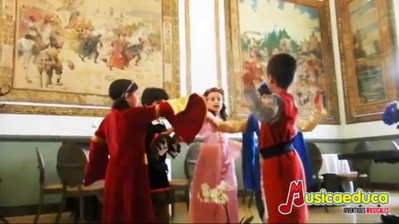 Una danza renacentista - Grupo de alumnos de Mi Teclado 3 - Juventudes Musicales del Alcalá