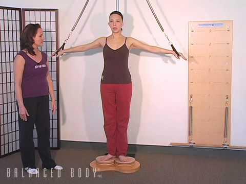 תרגילי פד-א-פול ליציבה וחיזוק הכתפיים