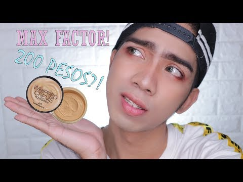 Max Factor X Whipped Creme Foundation | First Impression Review | Tagalog