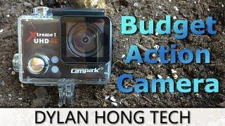 $70 Go Pro Clone!?! Campark 4K Sports Camera Review 2016 | Kholo.pk