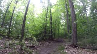 Time lapse and video highlights of the Maple Highlands Trail - South.