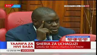 Sheria za uchaguzi: Wadau na taasisi zawasilisha maoni