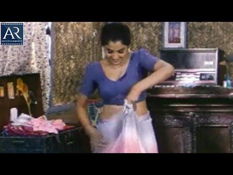 Lorry Driver Telugu Movie Scenes | Ramya Krishnan Changing Saree | AR Entertainments
