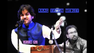 RAAG YAMAN MEDELY BY | JAVED ALI | CLASSICAL KHAZANA FESTIVAL 2019