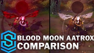Prestige vs Blood Moon Aatrox Comparison