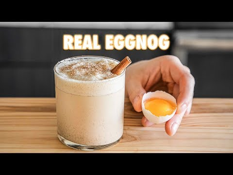 Learn How to Prepare Classic Christmas Eggnog at Home