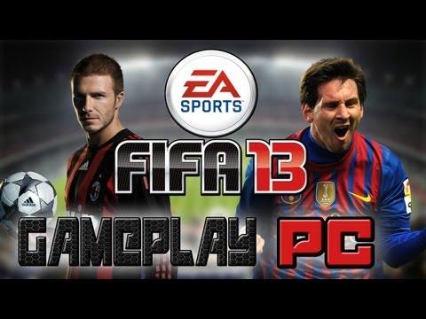 Gameplay de Fifa 2013