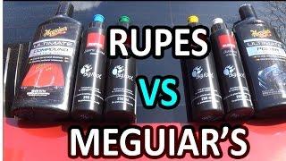 RUPES VS MEGUIAR