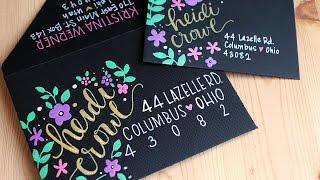 Kirarina Wink Markers & Decorating Envelopes - MAIL ART