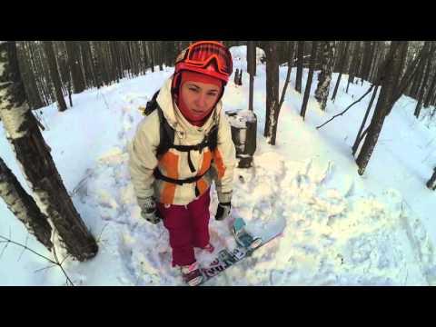 Видео: Видео горнолыжного курорта Качканар в Свердловская область