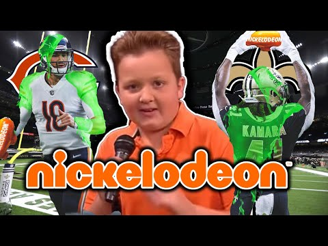 The INSANE NFL Nickelodeon Game