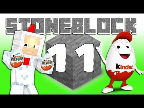 STONEBLOCK ⛏️ - #11 - Vyrábíme KINDER Vajíčka !