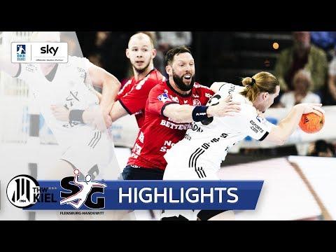 THW Kiel - SG Flensburg-Handewitt   Highlights - DKB Handball Bundesliga 2018/19