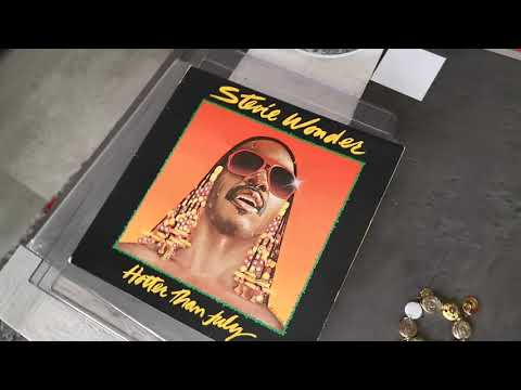 Stevie Wonder 🇺🇲 - I Ain't Gonna Stand For It - Vinyl Hotter Than July LP 🇵🇹 1980
