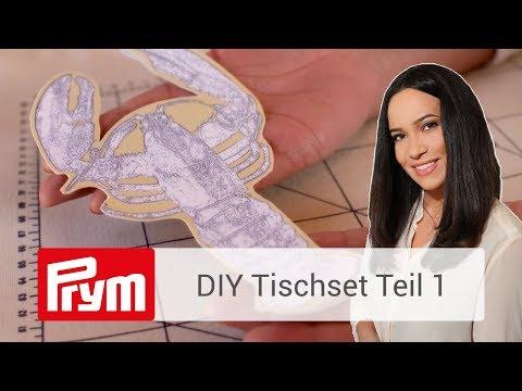 DIY Tischset | Edeles Tischset mit Nandini Mitra nähen (Teil 1)