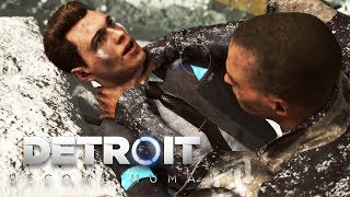 Detroit: Become Human BAD ENDING (Markus vs Connor Fight, Kara